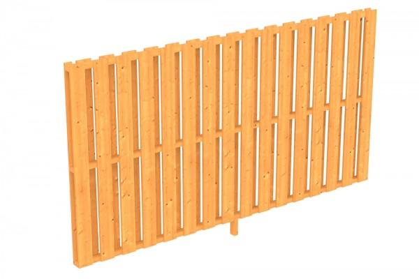 Skan Holz Seitenwand 305 x 160 cm, Deckelschalung, für Douglasien-Terrassenüberdachungen