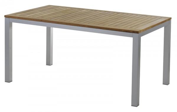 Diamond Garden Tisch Monza, Aluminium/Premium Teak, 160 x 90 cm