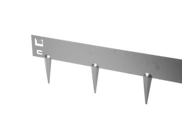Ever Edge Stahl Randbegrenzung, verzinkt, Stärke 1,6 mm, L 100 x H 7,5 cm