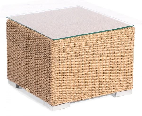 Sonnenpartner Lounge-Beistelltisch Residence, Kunststoffrundgeflecht, Hyazinthoptik