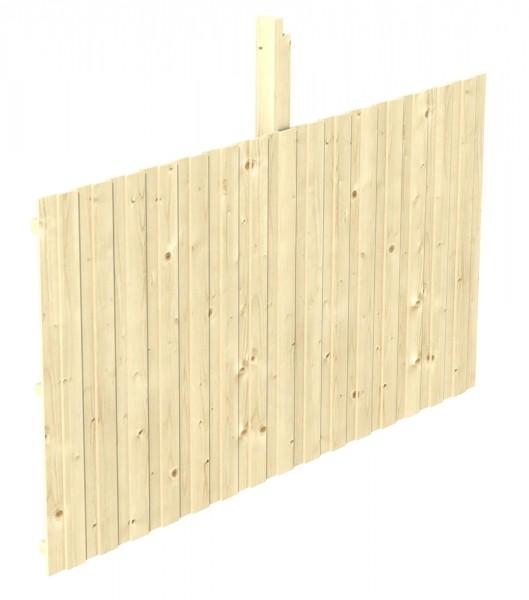 Skan Holz Rückwand 341 x 180 cm, Deckelschalung, Nadelholz