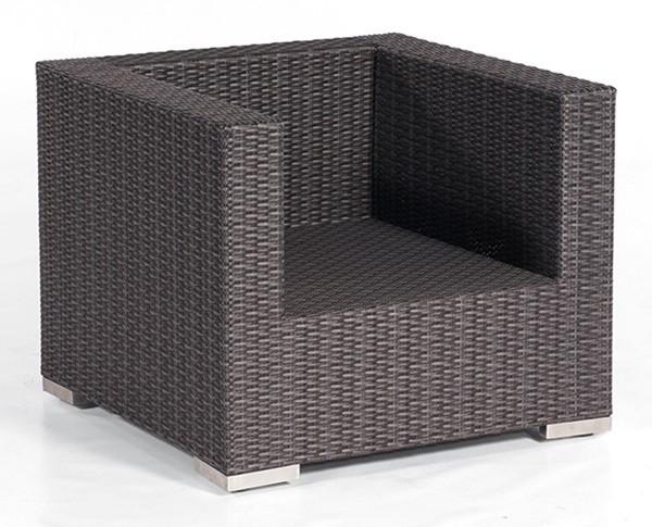 Sonnenpartner Lounge-Sessel Residence, Kunststoffgeflecht, graphit-schwarz