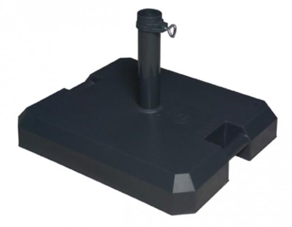Doppler Schirmständer/Profi Rollsockel, 42 kg, bis 50 mm ø, anthrazit
