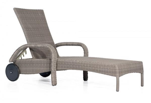 Sonnenpartner Liege Antigua, Kunststoffgeflecht stone-grey