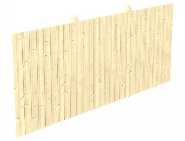 Skan Holz Rückwand 550 x 220 cm, Deckelschalung, Nadelholz