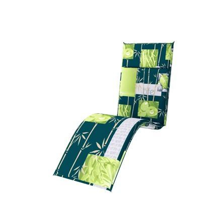 Doppler 4er Set Relaxliege Sitzauflagen Spirit, Dess. 7200