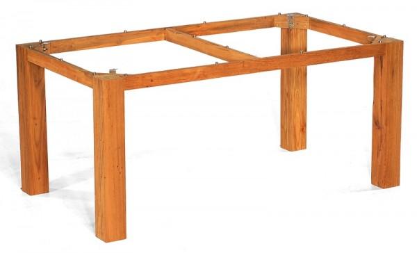 Sonnenpartner Tisch Base, Old Teak, 160 x 90 cm