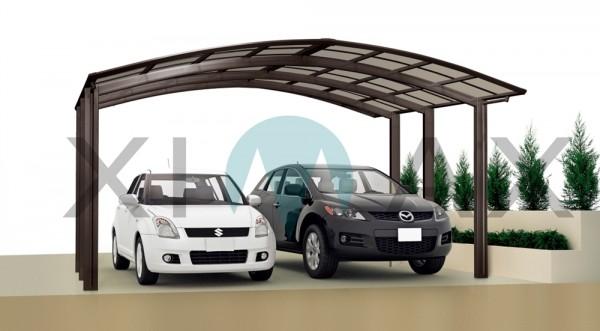 Ximax Design Carport Portoforte Typ 80 M-Ausführung, Aluminium, 4954x5423 mm