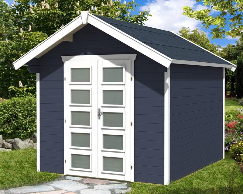 skan holz gartenhaus hengelo 250 x 300 cm 28 mm. Black Bedroom Furniture Sets. Home Design Ideas