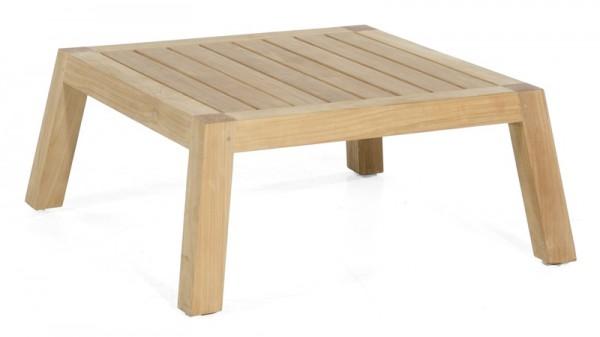 Sonnenpartner Lounge-Tisch Clifton, Teakholz, 80 x 80 cm