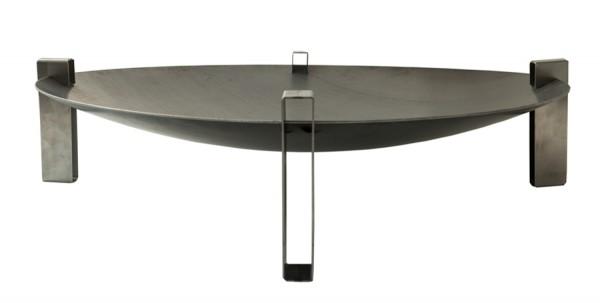 SvenskaV Design Feuerschale Space, Größe Super XXL, Stahl, Ø 80 cm