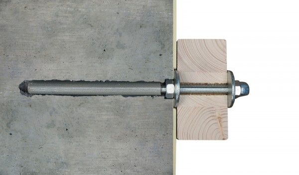 Skan Holz Wandbefestigungsset Größe 4