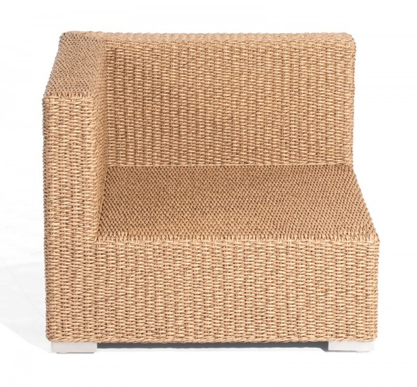 Sonnenpartner Lounge-Eckmodul Residence, Aluminium / Kunststoffrundgeflecht Hyazinthoptik