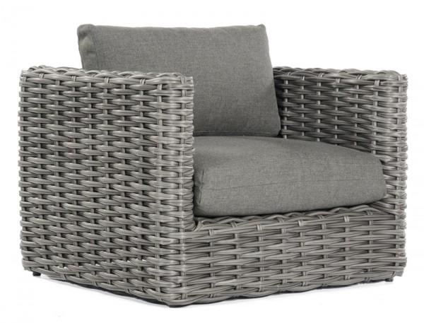 Sonnenpartner Lounge-Sessel Sands, Kunststoffgeflecht, charcoal