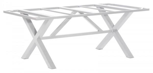 Sonnenpartner Tisch Base-Spectra, Aluminium silber, 200 x 100 cm