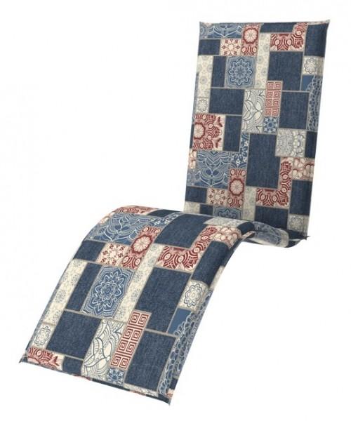 Doppler 4er Set Relaxliege Sitzauflagen living, Dess. 9904