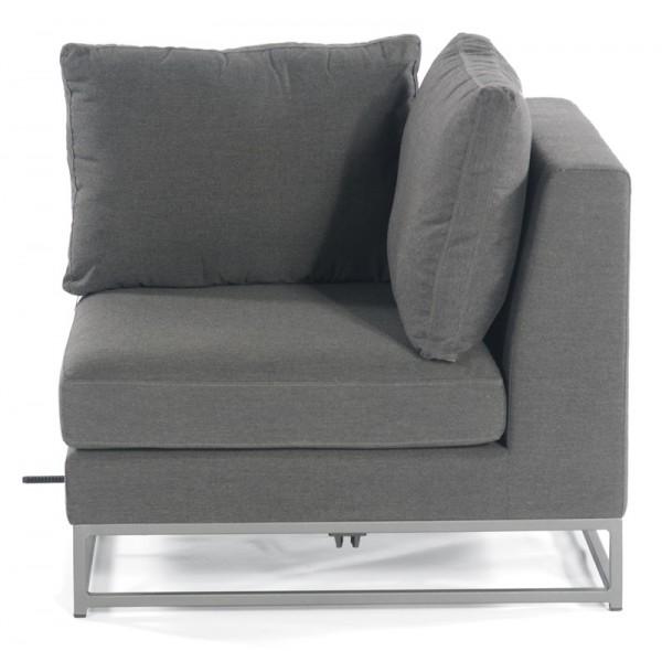 Sonnenpartner Lounge-Eckmodul Unique, Aluminium / Outdoor-Textil