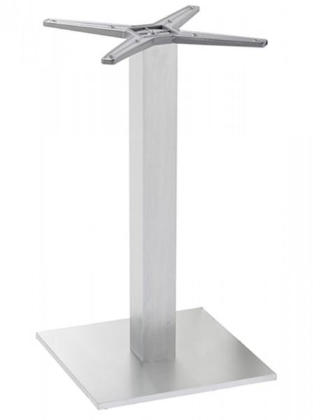 Diamond Garden Tisch Viana eckig Nr. 3, Aluminium/Eiche sägerau, 68 x 68 cm