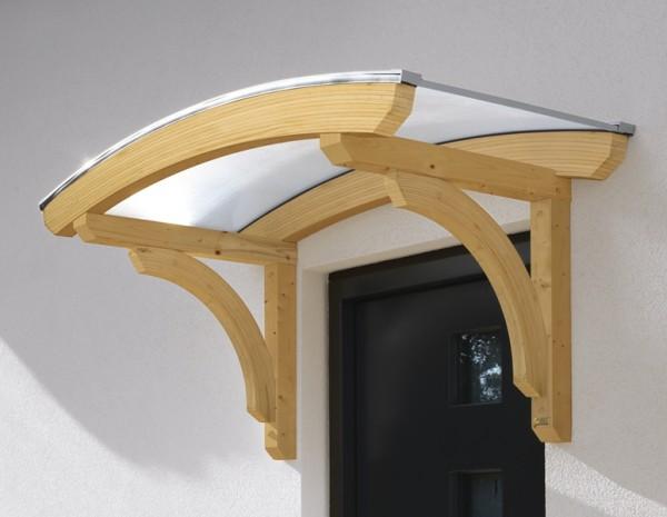 Skan Holz Design-Vordach Rostock, Einzeltür