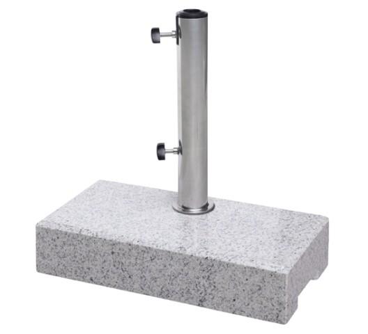 Doppler Schirmständer/Balkon Granitsockel, 25 kg, bis 48 mm ø