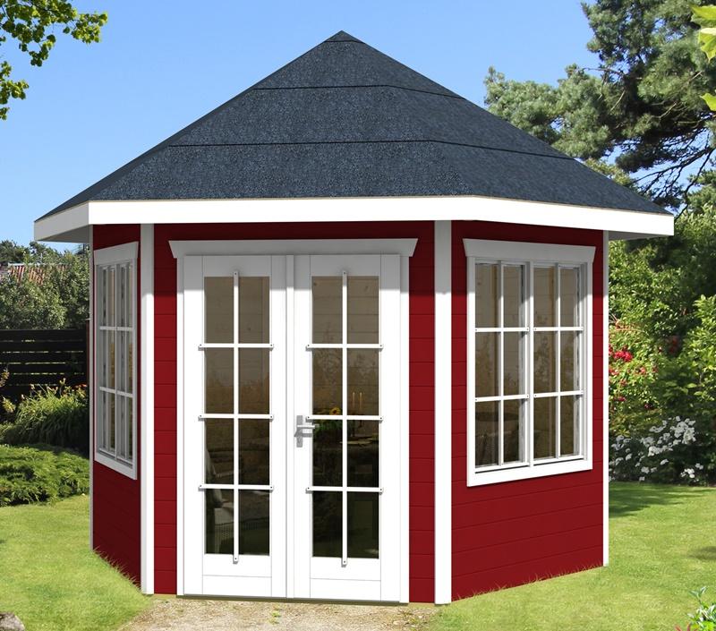 skan holz gartenhaus almelo 350 x 303 cm 28 mm. Black Bedroom Furniture Sets. Home Design Ideas