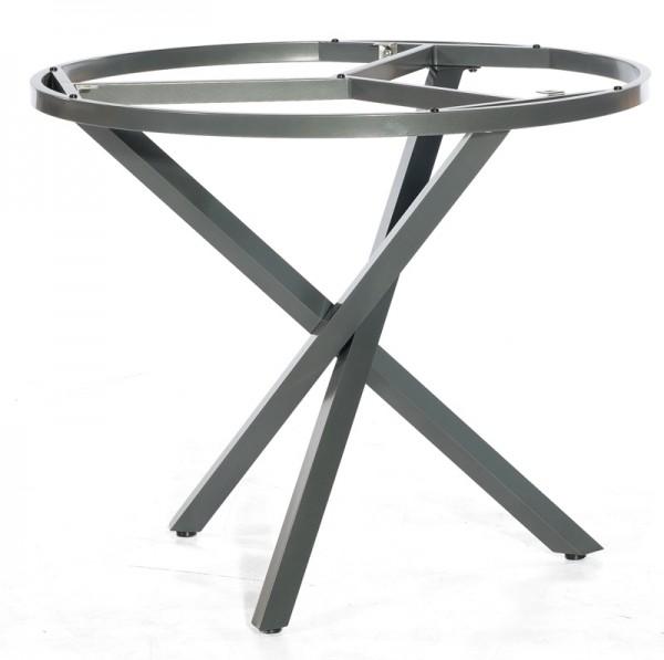 Sonnenpartner Tisch Base-Spectra rund, Aluminium anthrazit, Ø 100 cm
