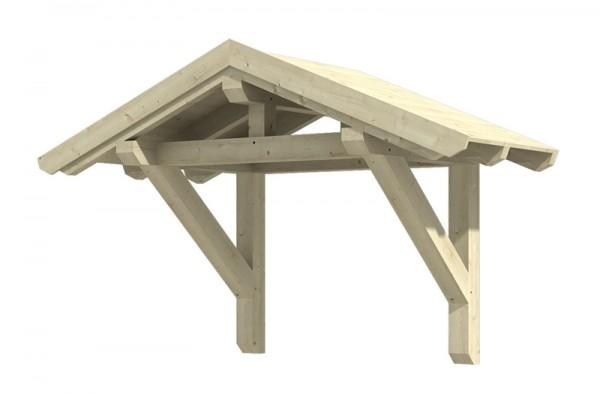 Skan Holz Vordach Siegen, Typ 1, Einzeltür