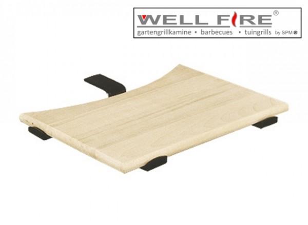 Wellfire Ablageplatte oval inkl. Halterung