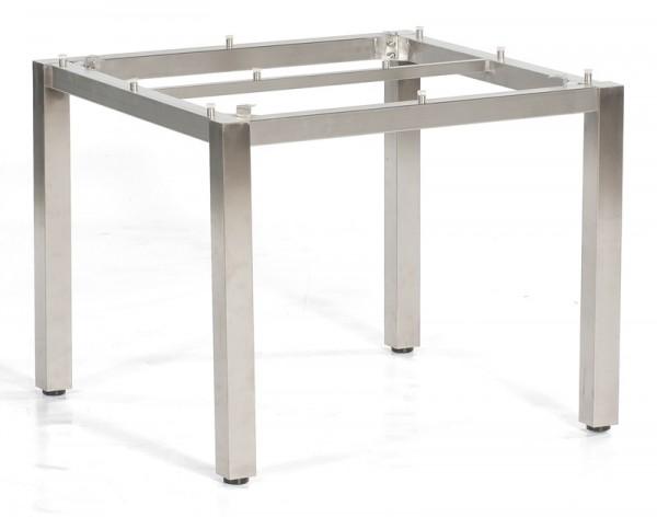 Sonnenpartner Tisch Base, Edelstahl, 90 x 90 cm