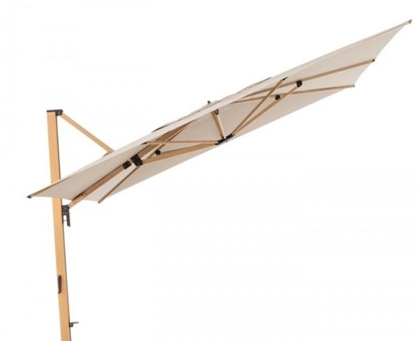 Sonnenschirm / Pendelschirm Doppler Alu Wood XL 400 x 300 cm