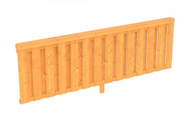 Skan Holz Brüstung 270 x 84 cm, Deckelschalung, für Douglasien-Terrassenüberdachungen