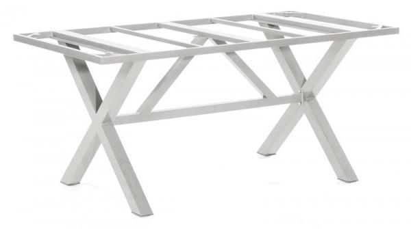 Sonnenpartner Tisch Base-Spectra, Aluminium silber, 160 x 90 cm