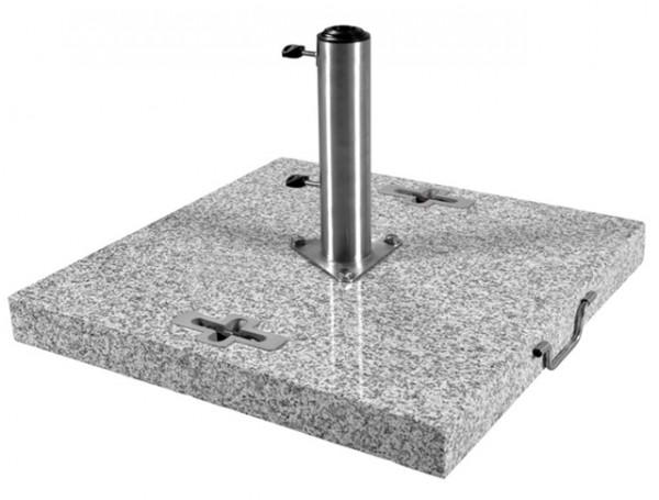 Doppler Schirmständer / Granitsockel, 90 kg, bis 70 mm ø
