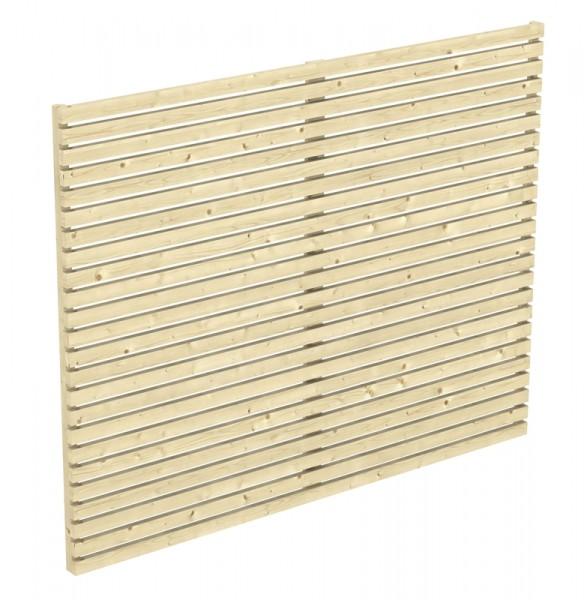 Skan Holz Rhombus-Seitenwand für Carport Spessart, 230 x 160 cm