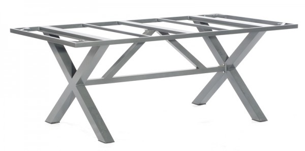 Sonnenpartner Tisch Base-Spectra, Aluminium anthrazit, 200 x 100 cm