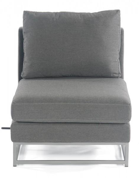 Sonnenpartner Lounge-Mittelmodul / Sessel Unique, Aluminium / Outdoor-Textil