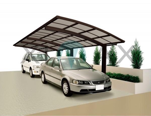 Ximax Design Carport Portoforte Typ 80 Tandem, Aluminium, 9826x2704 mm