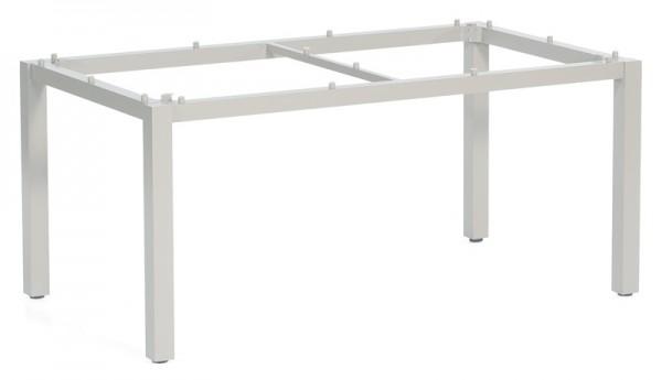 Sonnenpartner Tisch Base, Aluminium silber, 160 x 90 cm