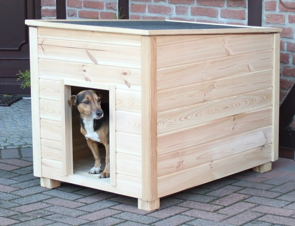 Promadino Hundehütte Bungalow