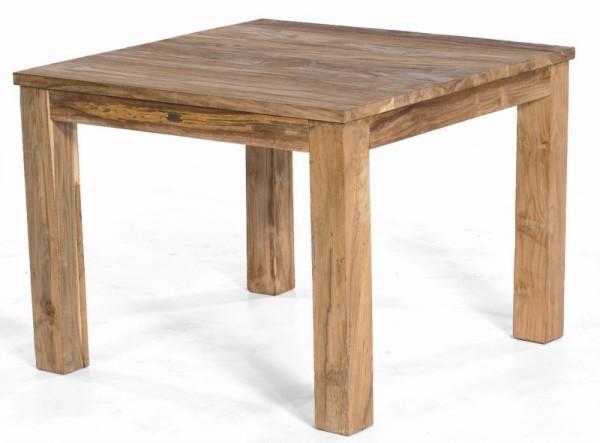 Sonnenpartner Tisch Charleston, Old Teak, 100 x 100 cm