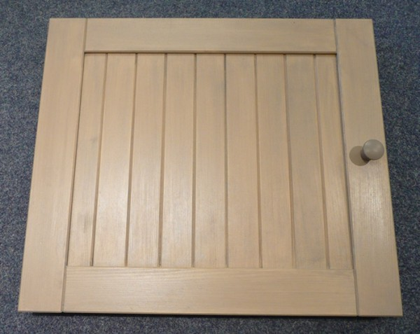 Wellfire Holztür für Grillkamin und Beistelltisch Siesta