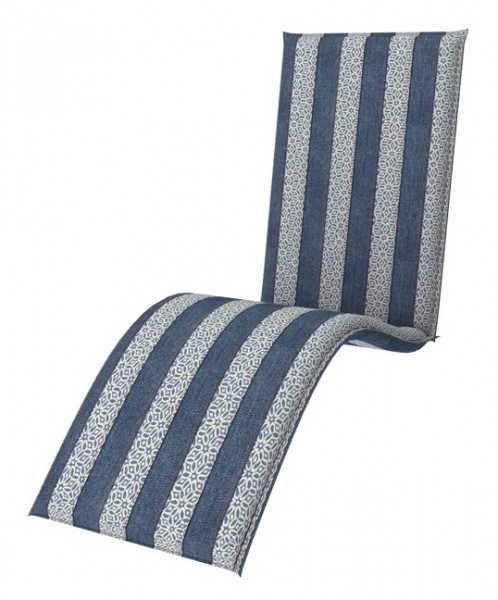 Doppler 4er Set Relaxliege Sitzauflagen living, Dess. 9906