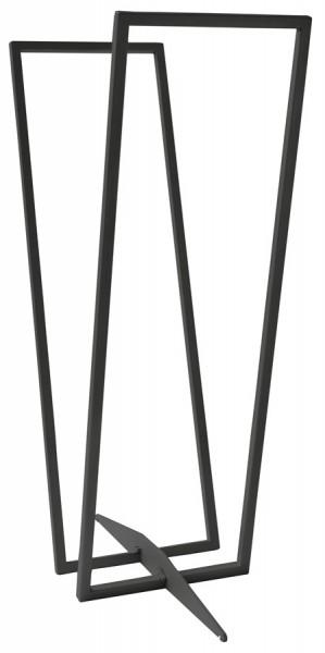 SvenskaV Kaminholzregal Standard, Stahl, schwarz
