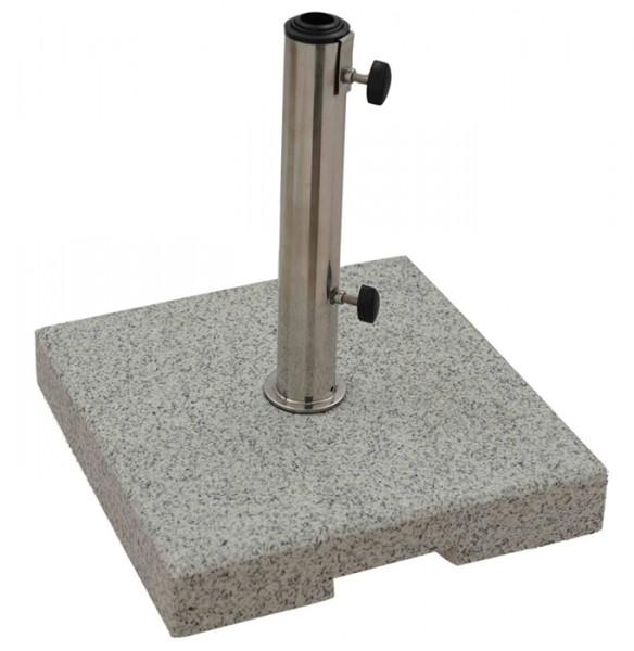 Derby Schirmständer/Granitsockel, 25 kg, bis 48 mm ø