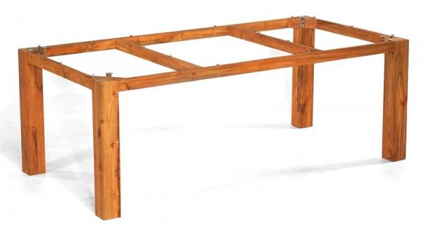Sonnenpartner Tisch Base, Old Teak, 200 x 100 cm