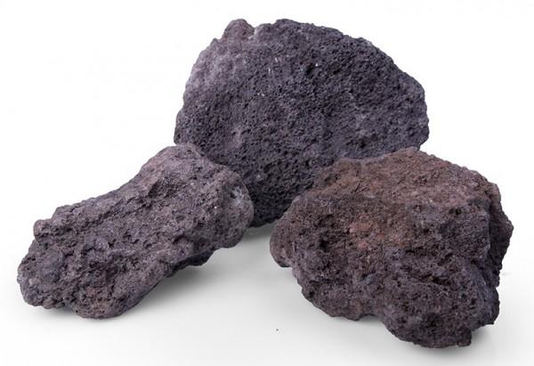 Gabionensteine / Bruchsteine Lava original, Körnung 60-120 mm, rot-braun