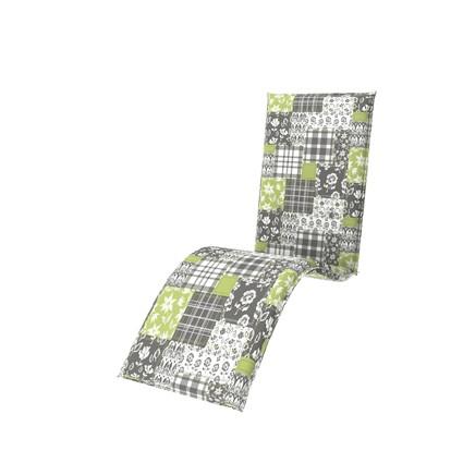 Doppler 4er Set Relaxliege Sitzauflagen living, Dess. 8904