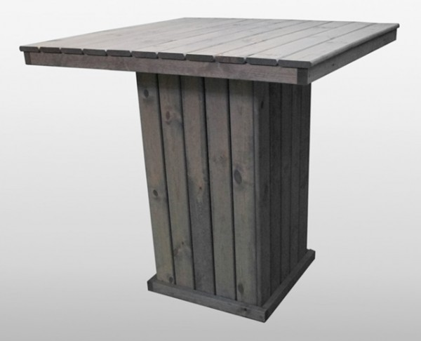 Promadino Barlounge-Tisch Grömitz, grau