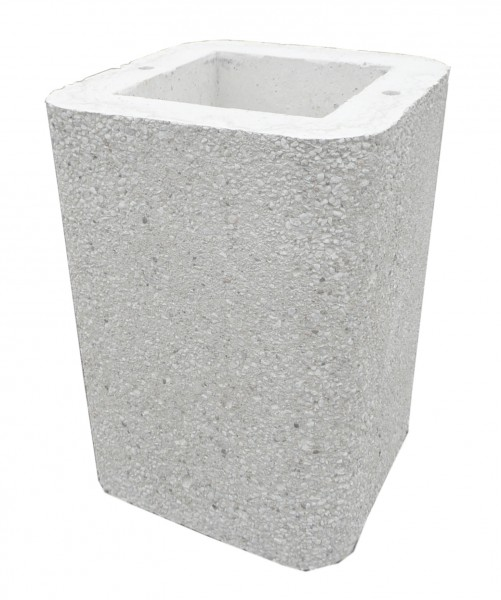 Wellfire Kaminverlängerung / Haubenverlängerung Siesta weiß, 40 cm