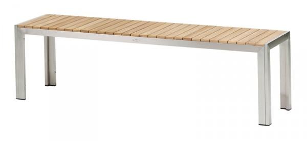 Diamond Garden Bank Capri, Edelstahl/Premium Teak, 160 cm